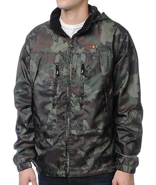 LRG CC Camo Windbreaker Jacket