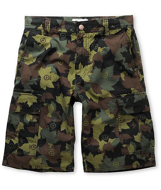 LRG CC Classic Camo Cargo Shorts