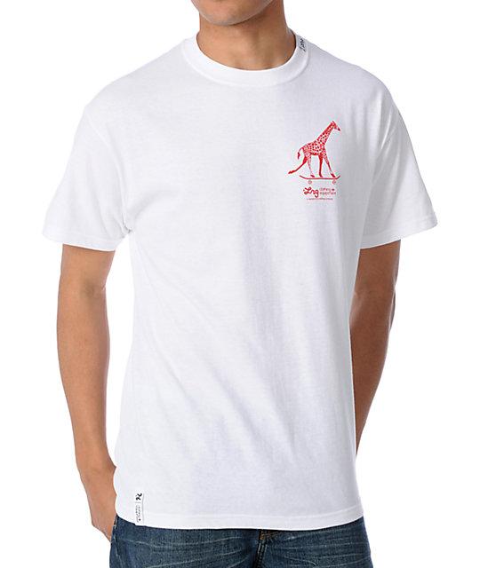 LRG CC Five White T-Shirt