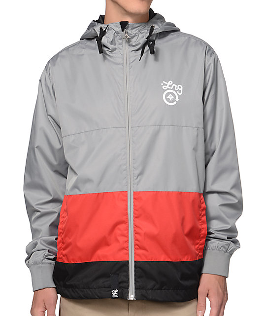 Lrg Windbreaker Jacket