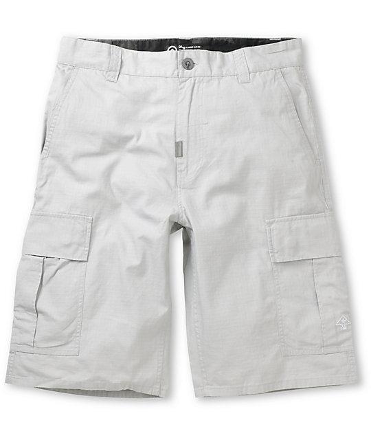 LRG CC Grey Ripstop Cargo Shorts