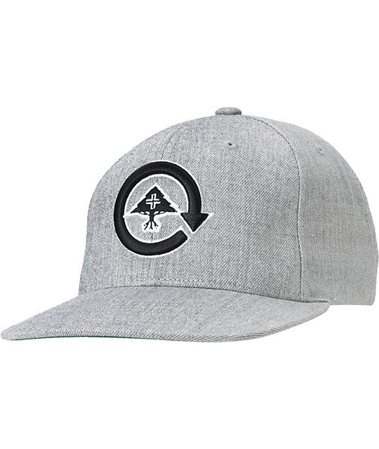 LRG CC Grey Snapback Hat