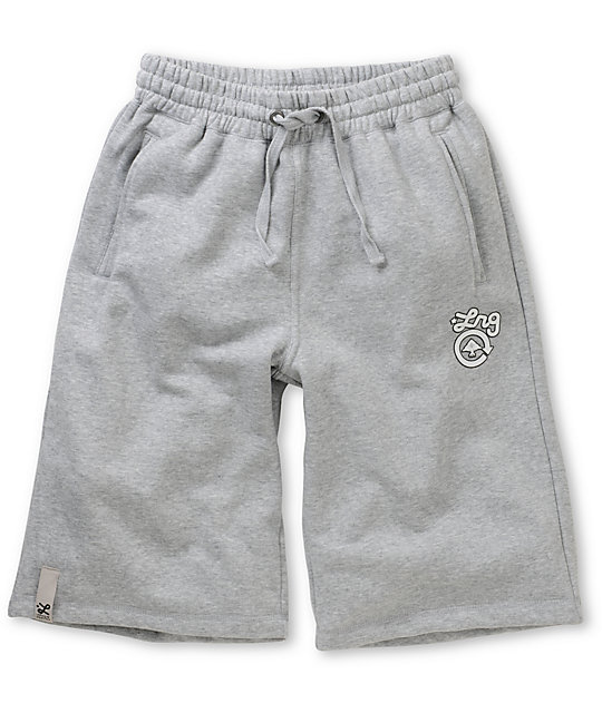 LRG CC Grey Sweat Shorts