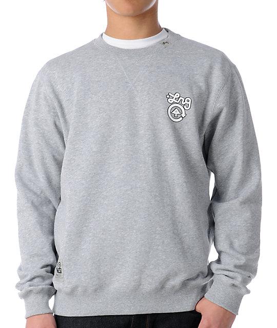 LRG CC Heather Grey Crew Neck Sweatshirt