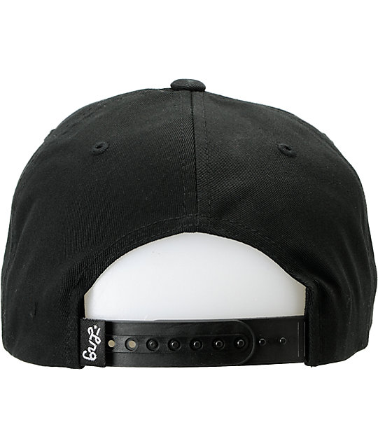 LRG CC Hustle Trees Black Snapback Hat