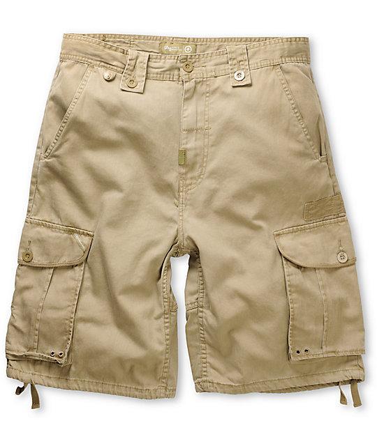 LRG CC Khaki Cargo Shorts