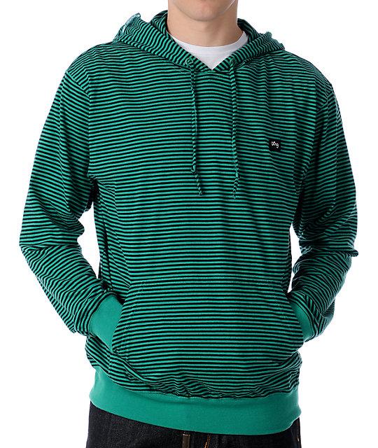 LRG CC Layering Green Hoodie