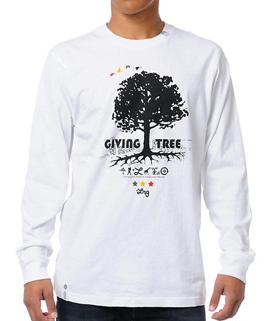 LRG CC Nine White Long Sleeve Shirt