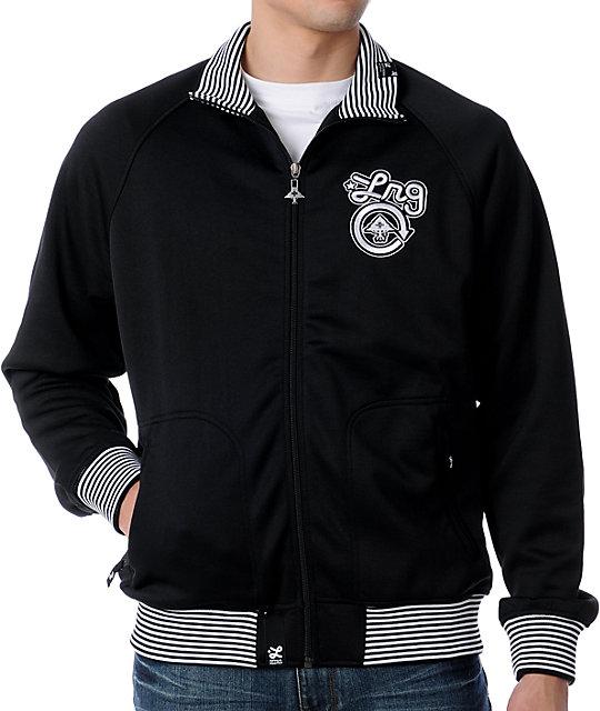 LRG CC One Black Track Jacket