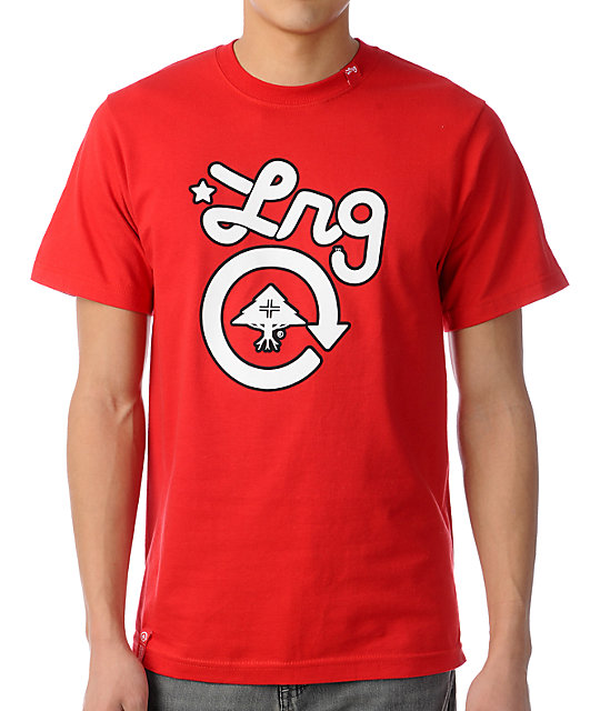 LRG CC One Red T-Shirt