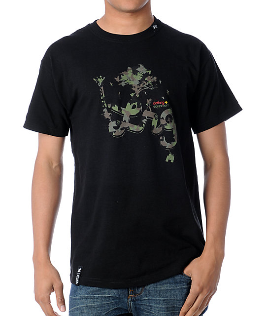 LRG CC Seven Black Mens T-Shirt