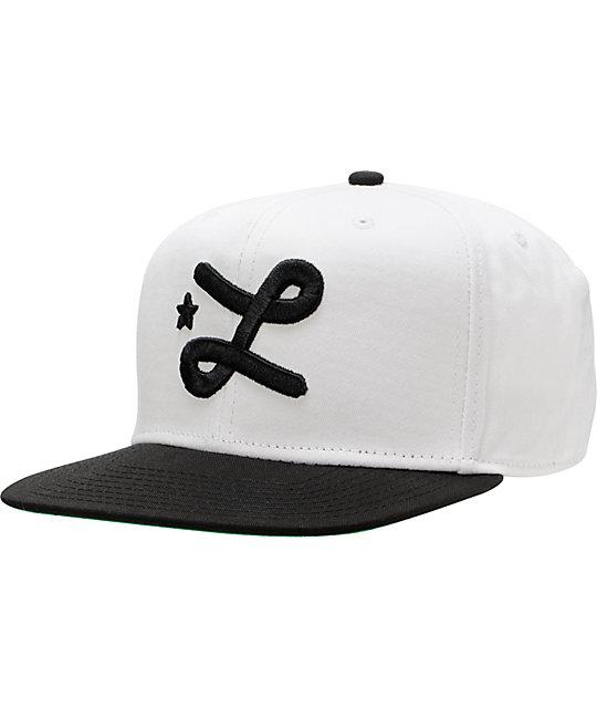 LRG CC Seven White Snapback Hat