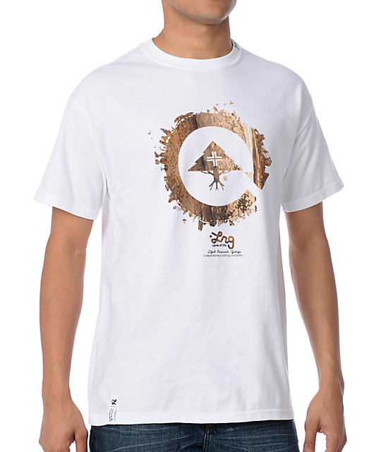 LRG CC Six White T-Shirt