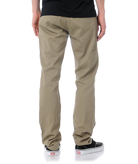 LRG CC Slim Fit Khaki Chino Pants