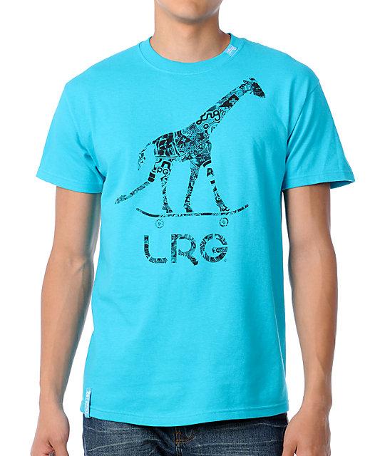 LRG CC Ten Turquoise T-Shirt