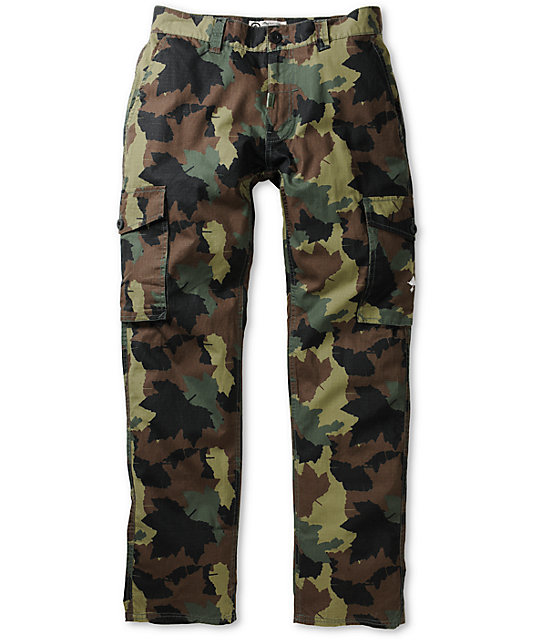 LRG CC True Straight Camo Cargo Pants