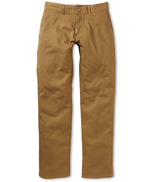 LRG CC True Straight Chino Dark Khaki Regular Fit Pants