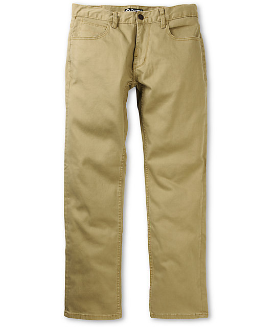 LRG CC True Straight Dark Khaki Regular Fit Jeans