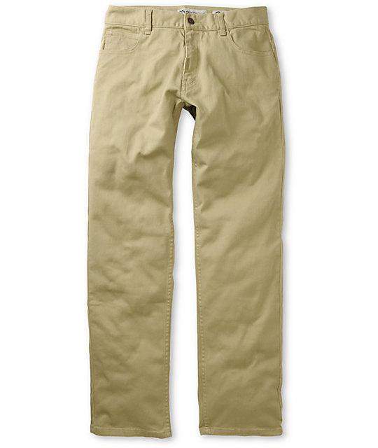 LRG CC True Straight Khaki Twill Jeans