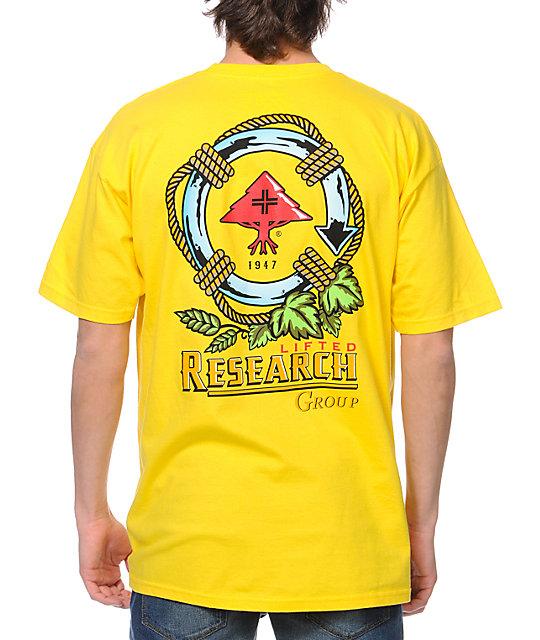 LRG Cerveza Life Yellow T-Shirt