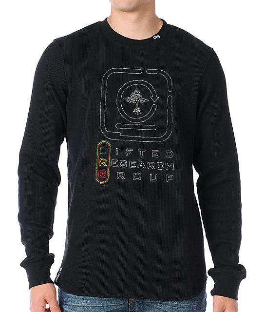 LRG Chemical Living Black Long Sleeve Thermal