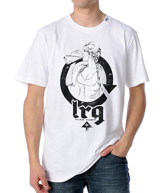 LRG Chug A Lug White T-Shirt
