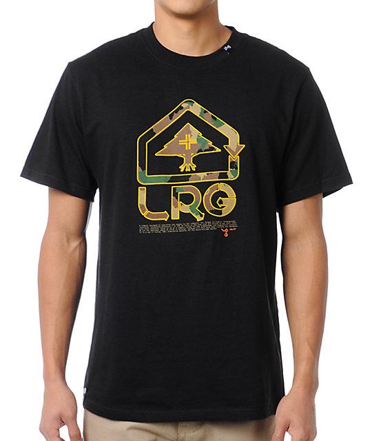 LRG Classic Camo Black T-Shirt