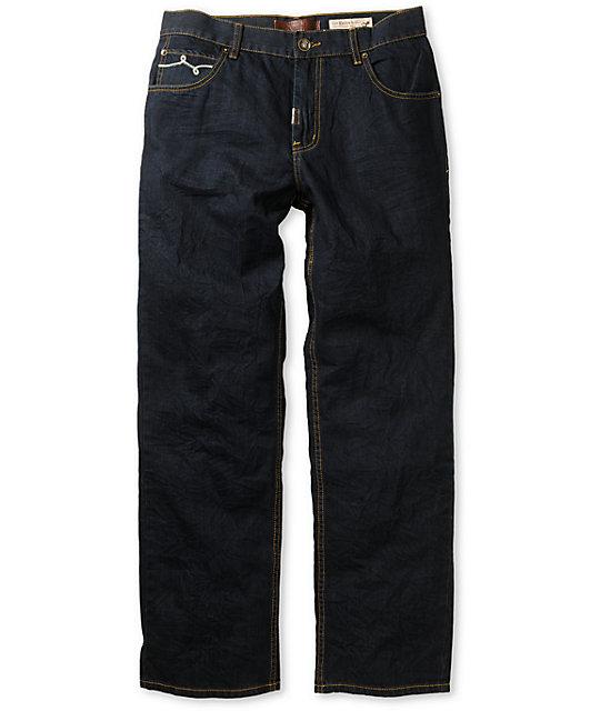 LRG Concrete Alibi C47 Dark Indigo Relaxed Fit Jeans