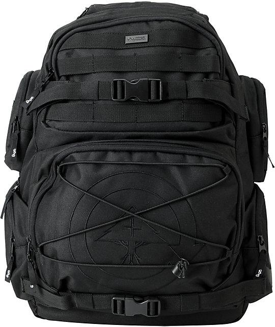LRG Convoy Black Backpack