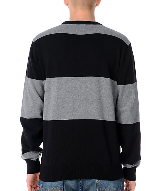 LRG Core Collection Black Crew Neck Sweater