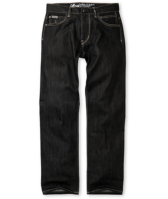 LRG Core Collection TS Raw Black Denim