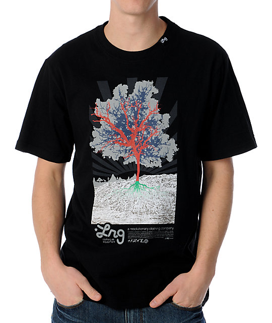 LRG Deeply Rooted Black T-Shirt
