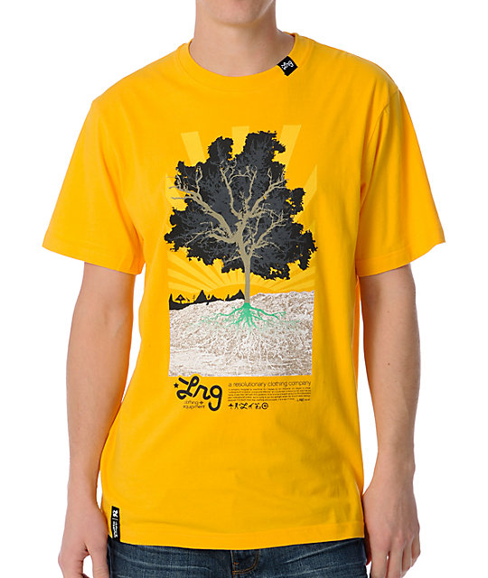 LRG Deeply Rooted Yellow T-Shirt