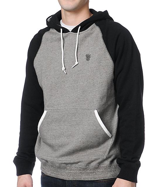 LRG Derision Black & Grey Pullover Hoodie