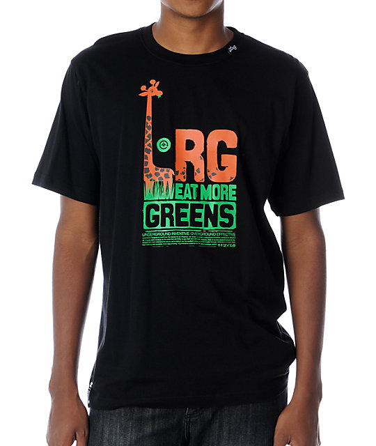 LRG Eat More Black T-Shirt