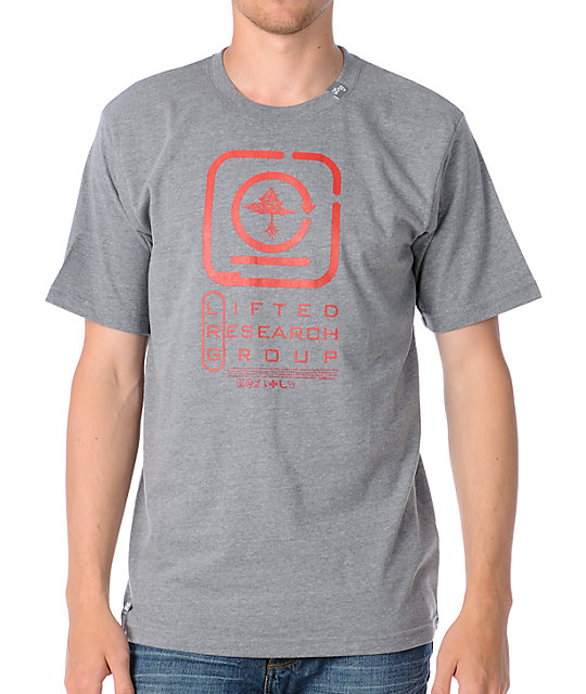 LRG Encryption Grey T-Shirt