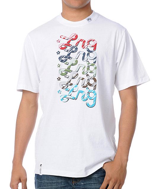 LRG Eye Candy White T-Shirt