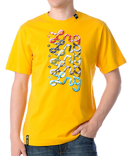 LRG Eye Candy Yellow T-Shirt