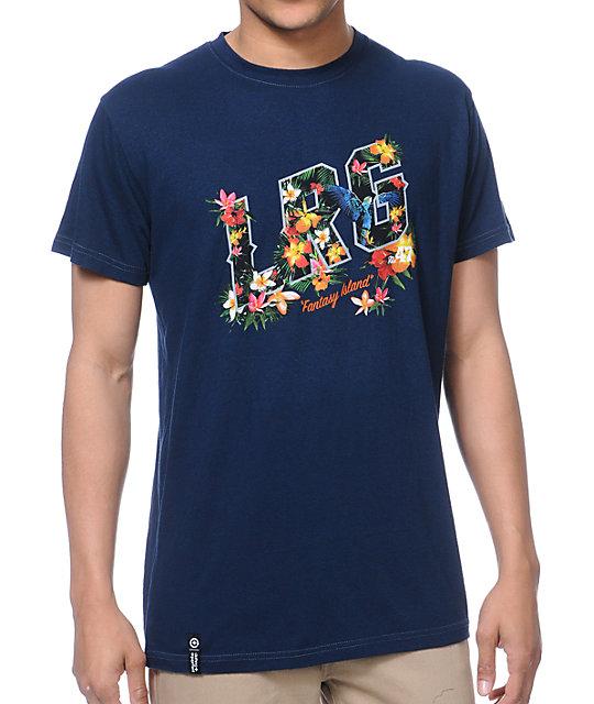 LRG Fantasy Navy T-Shirt