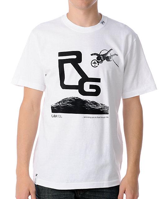 LRG Float On White T-Shirt