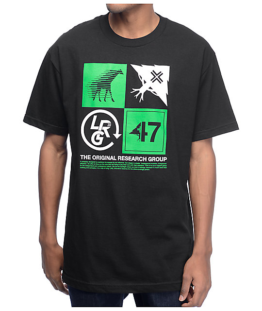 LRG Fourth and Four Black T-Shirt