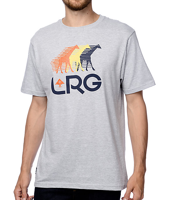 LRG Front Runners Grey T-Shirt