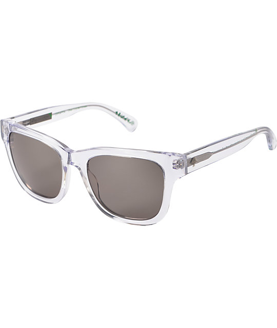LRG Giraffa Clear & Grey Sunglasses