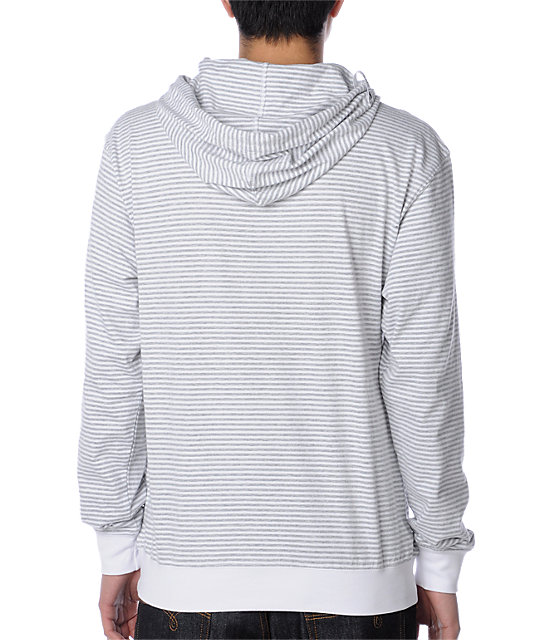 LRG Grass Roots Layering White Hoodie