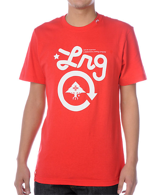 LRG Grass Roots One Red T-Shirt