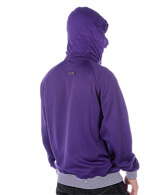LRG Grass Roots Purple Track Jacket