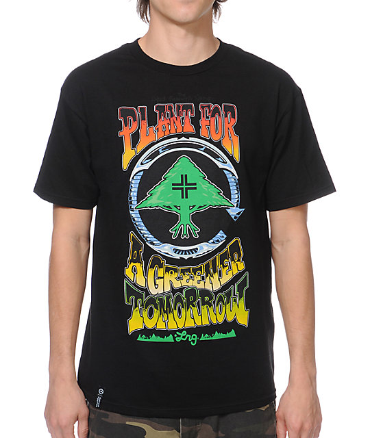 LRG Greener Tomorrow Black T-Shirt