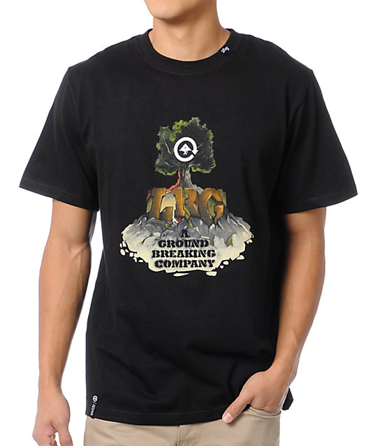 LRG Ground Breaking Company Black T-Shirt