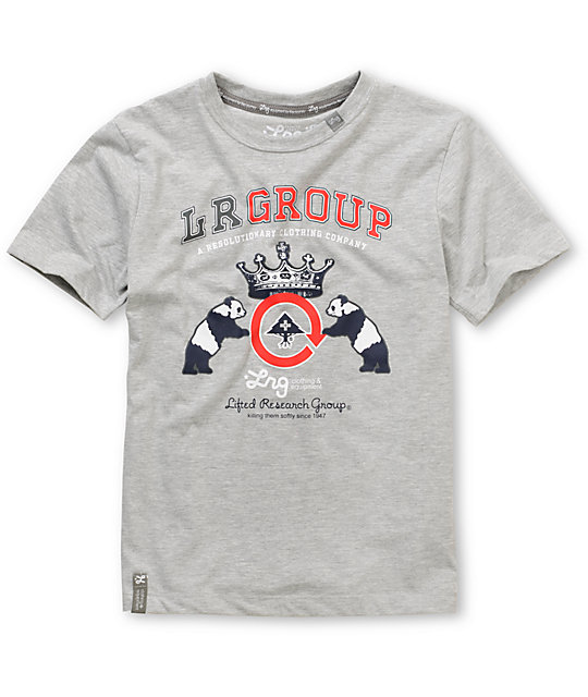 LRG Group Grey Boys T-Shirt