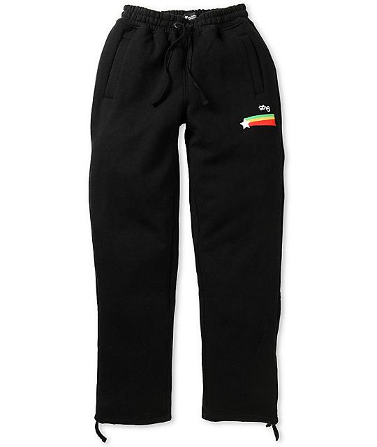 LRG Guiding Star Black Sweatpants